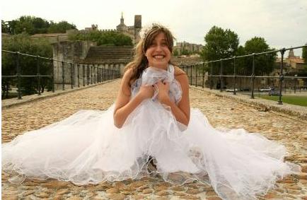 Angelique SUREL/ Le Dauphine Libere/ Photopqr.  Chateauneuf du Pape le 28 mai 2010